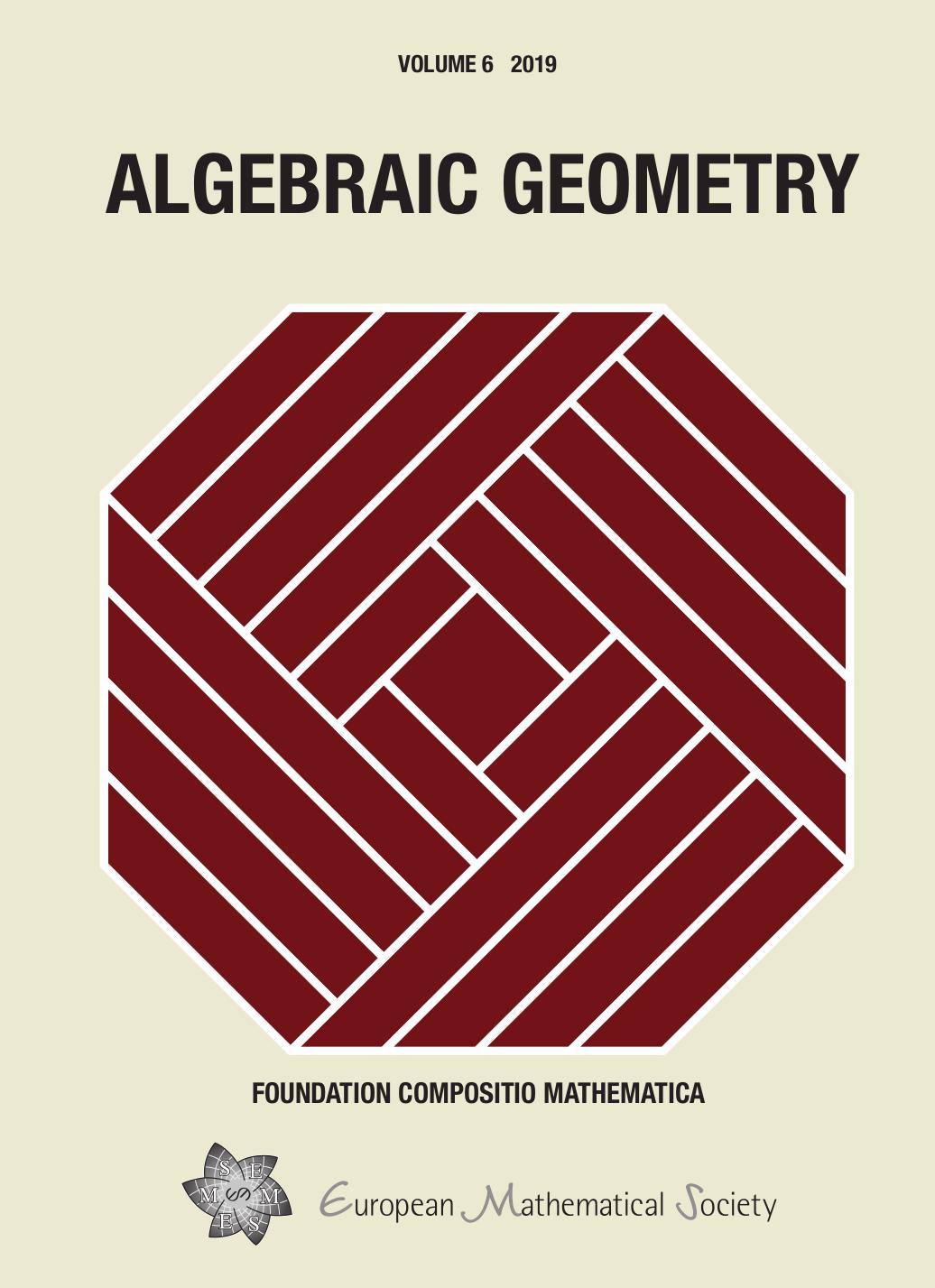 Algebraic Geometry cover