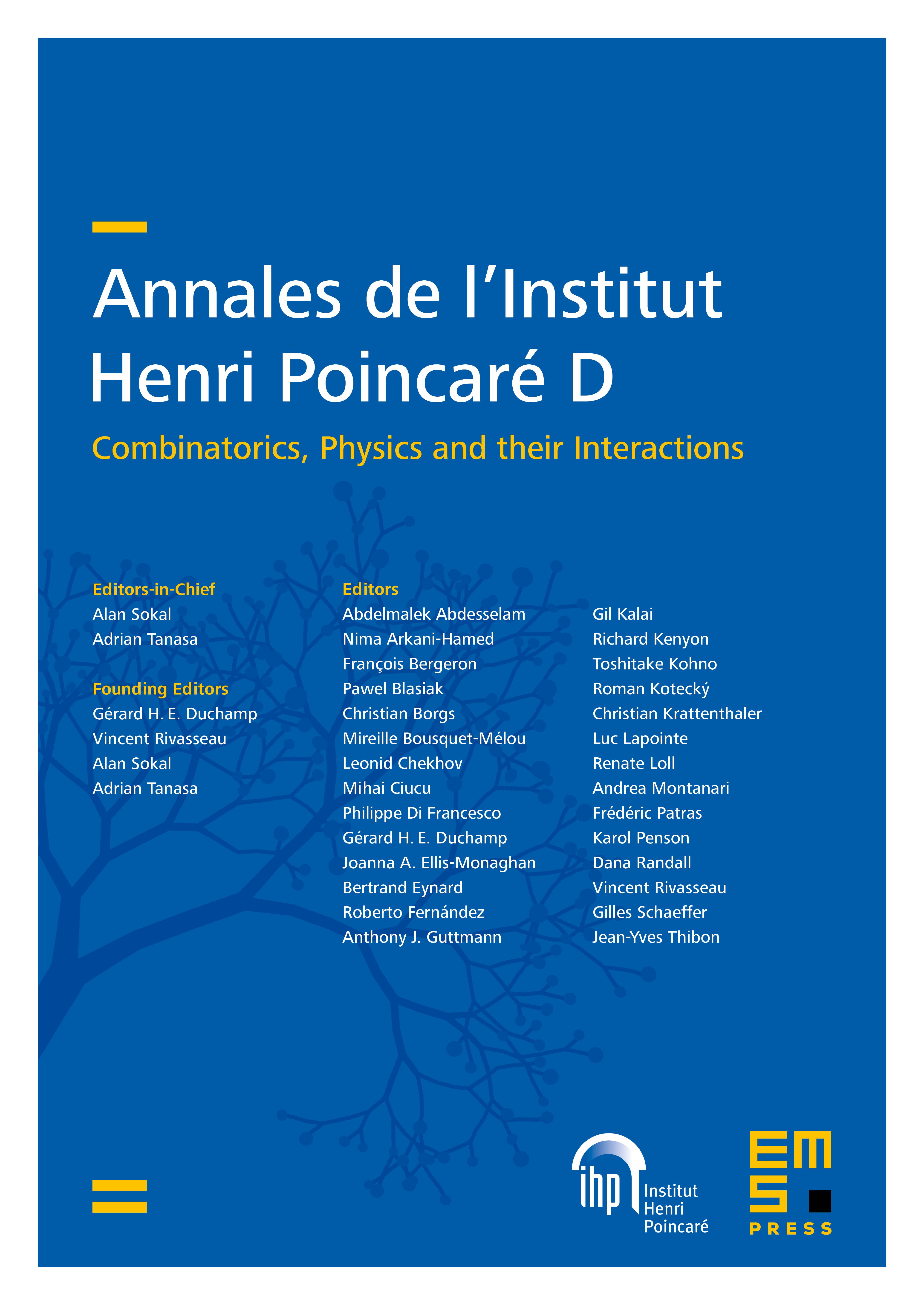 Ann. Inst. Henri Poincaré Comb. Phys. Interact. cover
