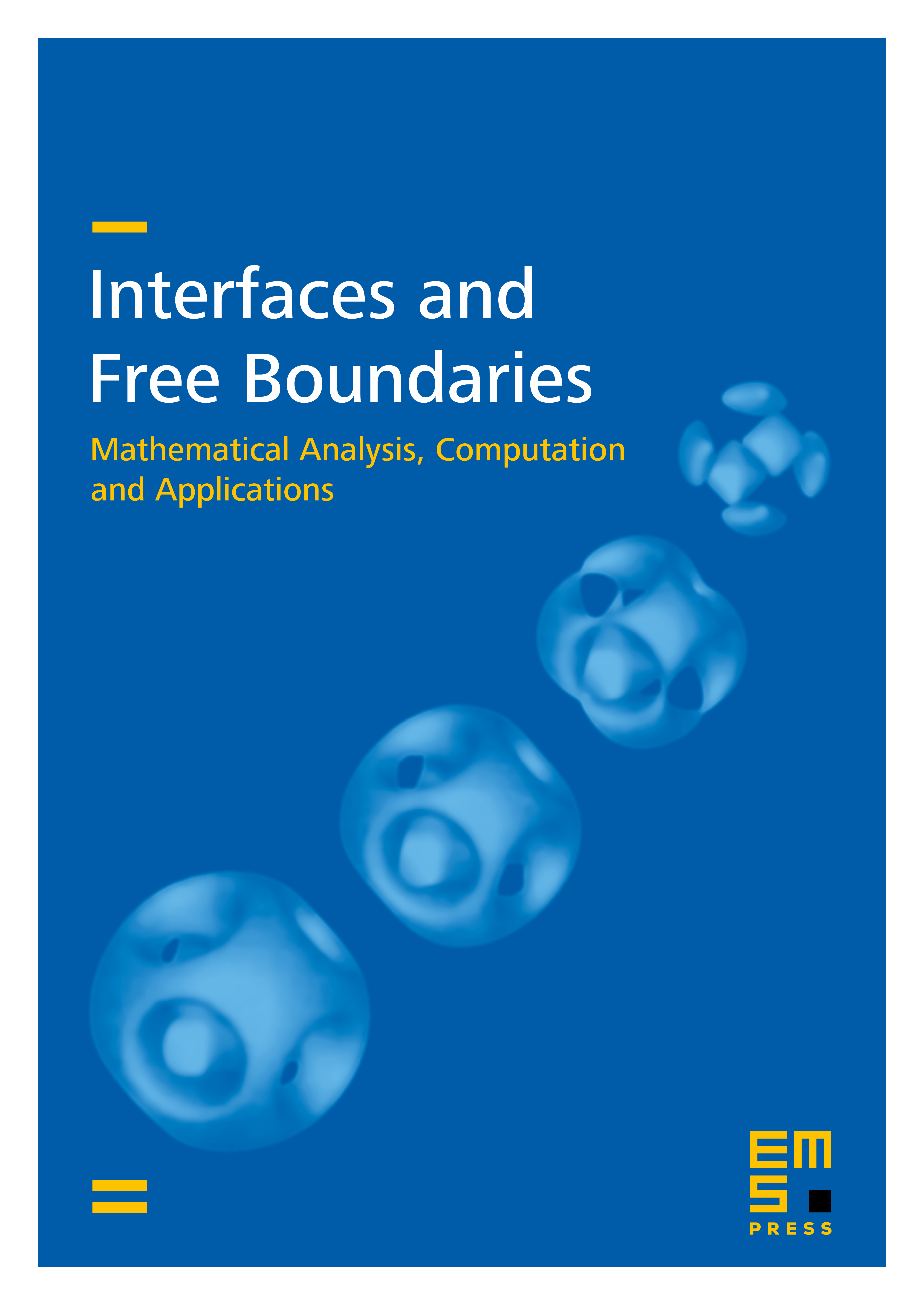 Interfaces and Free Boundaries cover