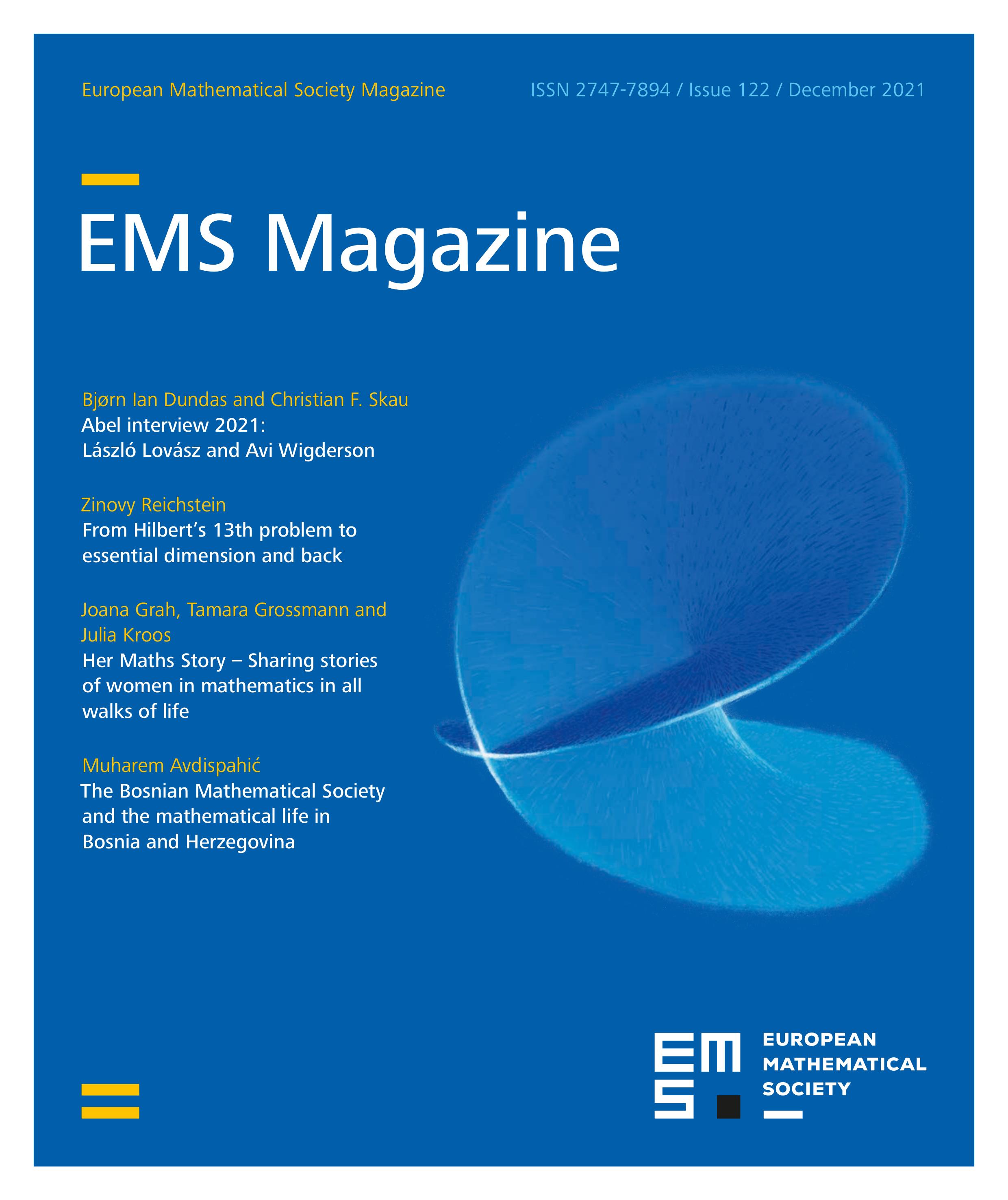 Mag. Eur. Math. Soc. cover
