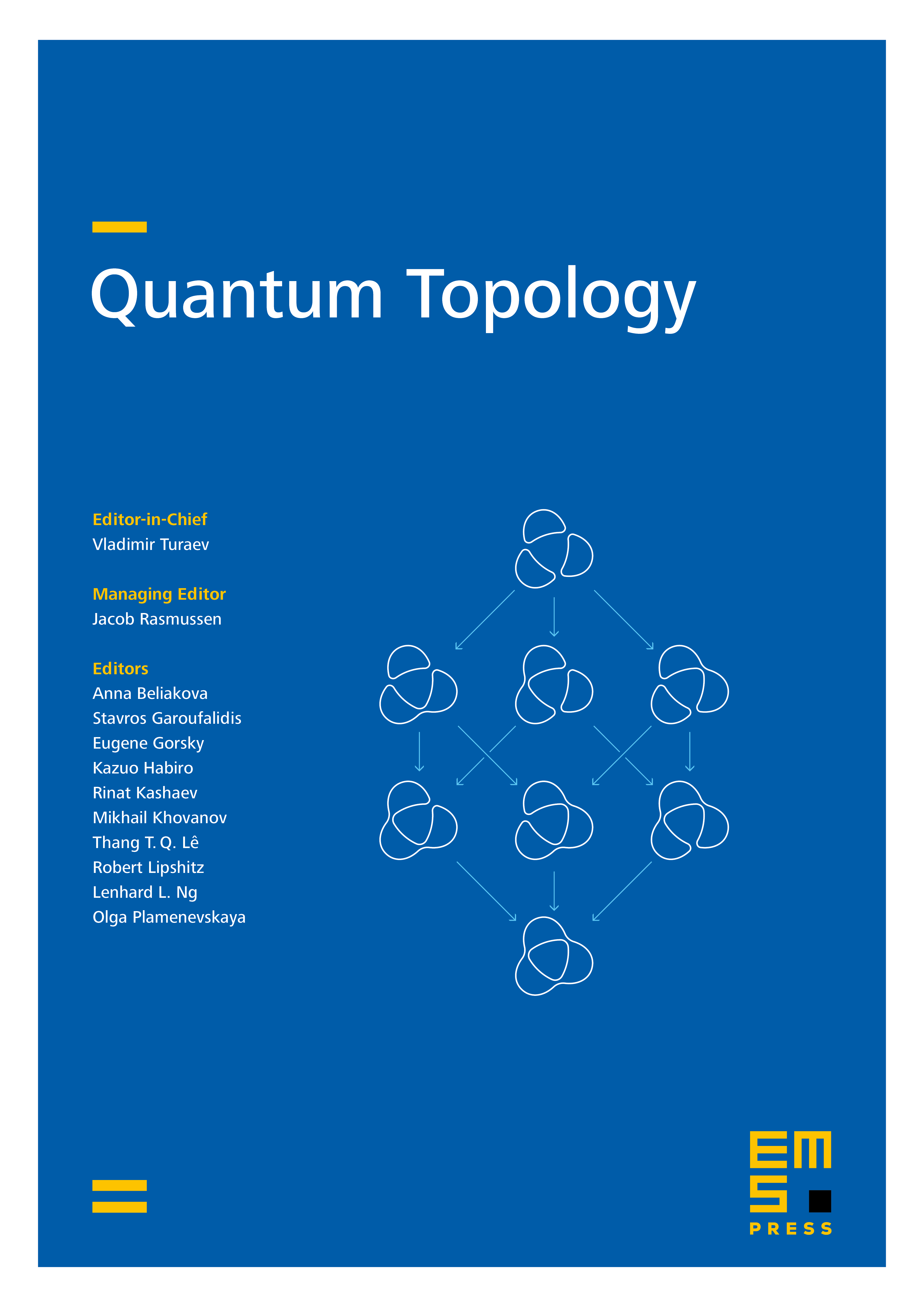 Quantum Topol. cover